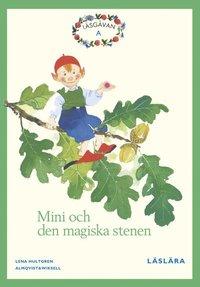 bokomslag Läsgåvan A, Mini och den magiska stenen, Grön