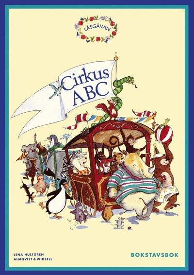 Läsgåvan A, Bokstavsbok Cirkus ABC 1