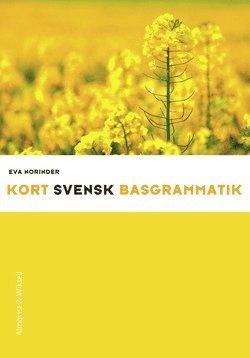 bokomslag Kort svensk basgrammatik