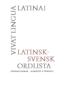 bokomslag Vivat lingua latina Ordlista