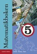 bokomslag Matematikboken 5 Grundbok