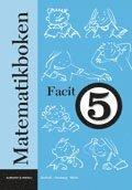 bokomslag Matematikboken 5 Facit