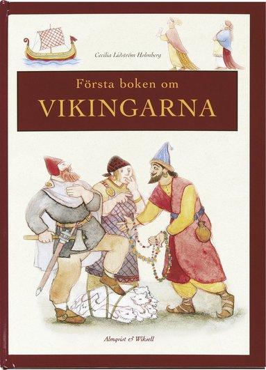 bokomslag Första boken om Vikingarna