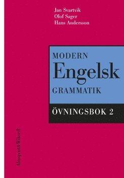 bokomslag Modern engelsk grammatik Övningsbok 2 + Facit