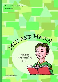 bokomslag Mix and Match Reading Comprehension Level 1, inkl facit
