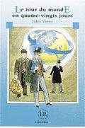 bokomslag Easy Readers Le tour du monde en 80 jours nivå B - Easy Readers