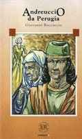 bokomslag Easy Readers Andreuccio da Perugia (nivå A)