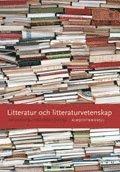 bokomslag Litteratur och litteraturvetenskap
