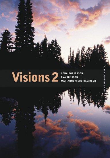 bokomslag Visions 2 Allt-i-ett-bok inkl. elev-cd och facit