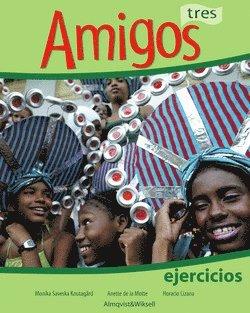 bokomslag Amigos tres Övningsbok