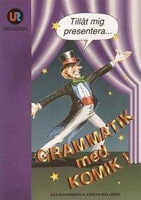 bokomslag Grammatik med komik, huvudbok