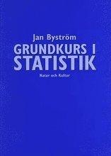 bokomslag Grundkurs i statistik