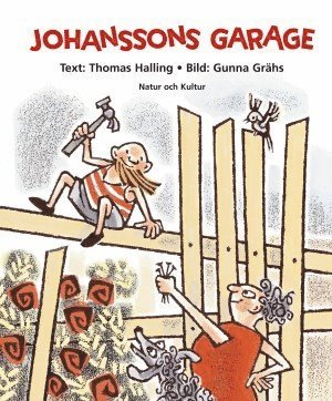 bokomslag Johanssons garage