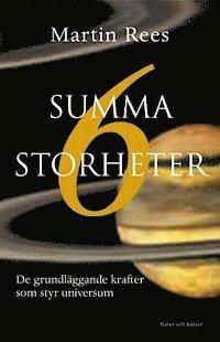 bokomslag Summa sex storheter : De grundläggande krafter som styr universum