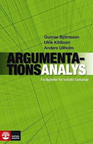 Argumentationsanalys : färdigheter för kritiskt tänkande 1