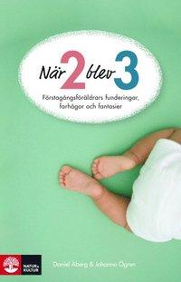 bokomslag När två blev tre : förstagångsföräldrars funderingar, farhågor och fantasier