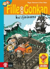bokomslag Fille och Gonkan hos sjörövarna