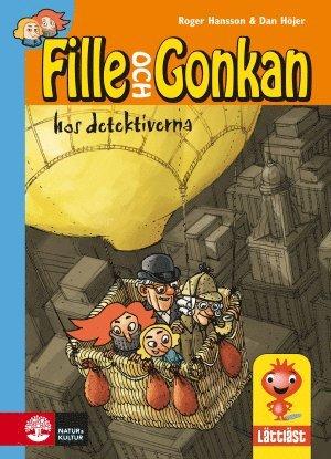 bokomslag Fille och Gonkan hos detektiverna