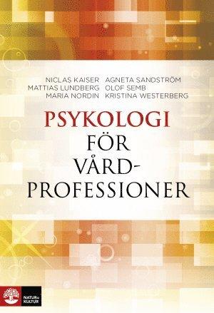 bokomslag Psykologi för vårdprofessioner