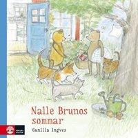 bokomslag Nalle Brunos sommar