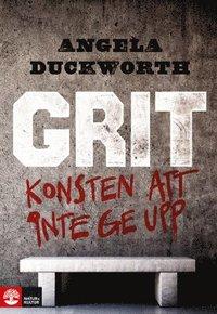 bokomslag Grit : Konsten att inte ge upp