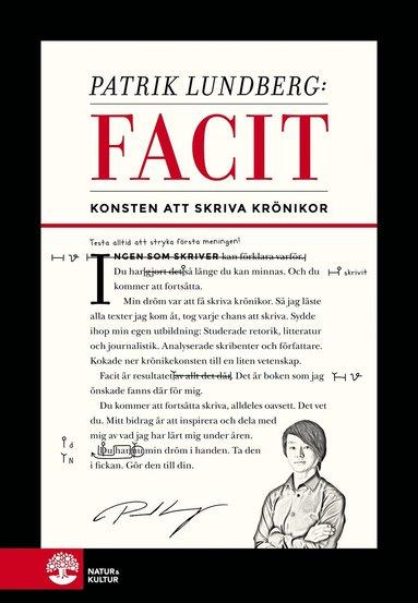 bokomslag Facit : konsten att skriva krönikor