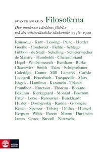 bokomslag Filosoferna : den moderna världens födelse och det västerländska tänkandet 1776–1900