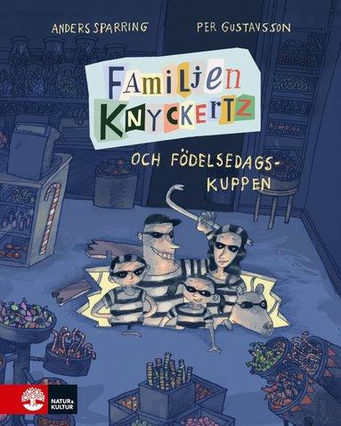 bokomslag Familjen Knyckertz och födelsedagskuppen