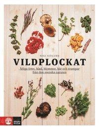 bokomslag Vildplockat : ätliga örter, blad, blommor, bär och svampar från den svenska naturen