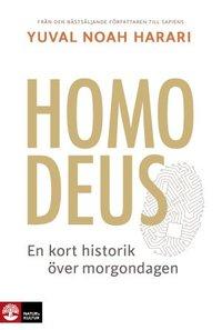 bokomslag Homo Deus : en kort historik över morgondagen