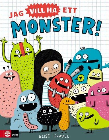 bokomslag Jag vill ha ett monster!