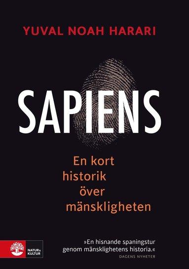 bokomslag Sapiens : en kort historik över mänskligheten