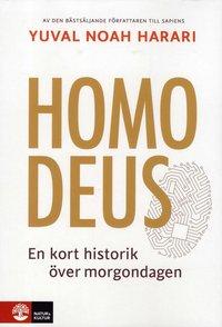 bokomslag Homo Deus : kort historik över morgondagen