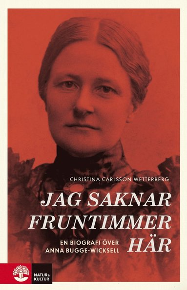 bokomslag Jag saknar fruntimmer här : en biografi över Anna Bugge Wicksell