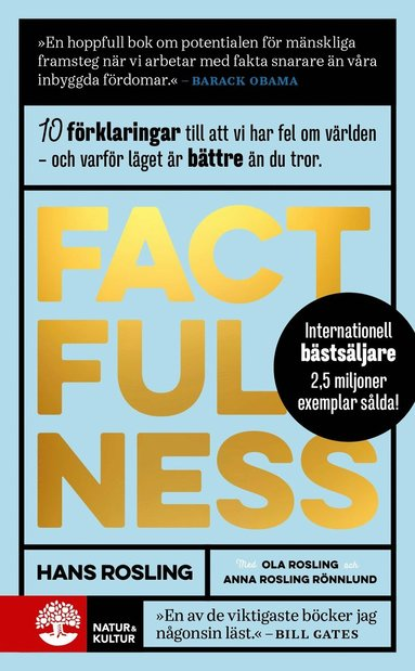 bokomslag Factfulness : tio knep som hjälper dig förstå världen