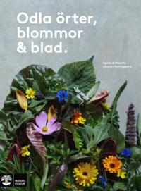 bokomslag Odla örter, blommor & blad