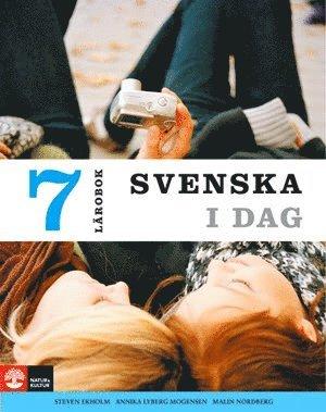 bokomslag Svenska i dag 7 Lärobok