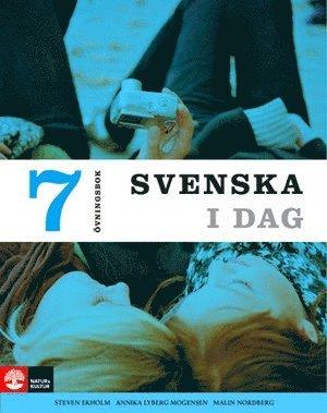 bokomslag Svenska i dag 7 Övningsbok
