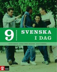 bokomslag Svenska i dag 9 Övningsbok