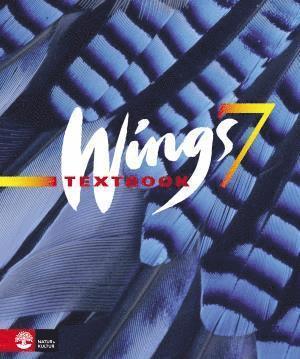bokomslag Wings 7 - blue Textbook inkl elev-cd