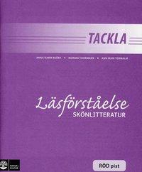 bokomslag Tackla Läsförståelse Skönlitteratur Röd pist (1-pack)