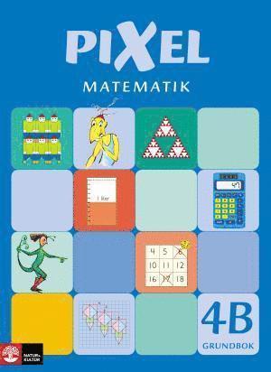 bokomslag Pixel matematik 4B Grundbok