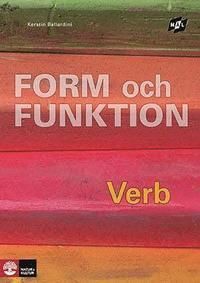 bokomslag Mål Form och funktion Verb, andra upplagan