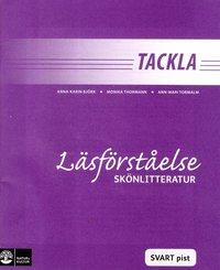 bokomslag Tackla Läsförståelse Skönlitteratur Svart pist (1-pack)