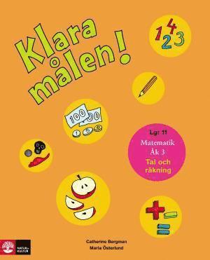 bokomslag Klara målen : tal och räkning. Åk 3