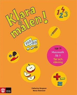 bokomslag Klara målen : geometri, mätningar och statistik. Åk 3