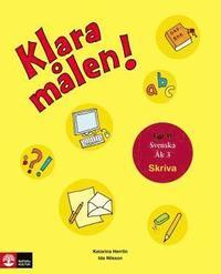 bokomslag Klara målen - Skriva