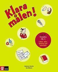 bokomslag Klara målen - Läsa, tala och samtala