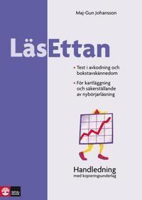 bokomslag LäsEttan - Kartläggningstester för åk 1