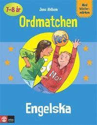 bokomslag Pysselbok Engelska Ordmatchen